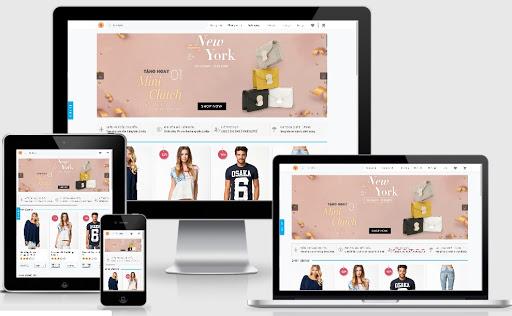 Template blogspot bán quần áo hiện đại chuẩn SEO